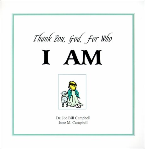 Download Thank You, God, for Who I Am pdf