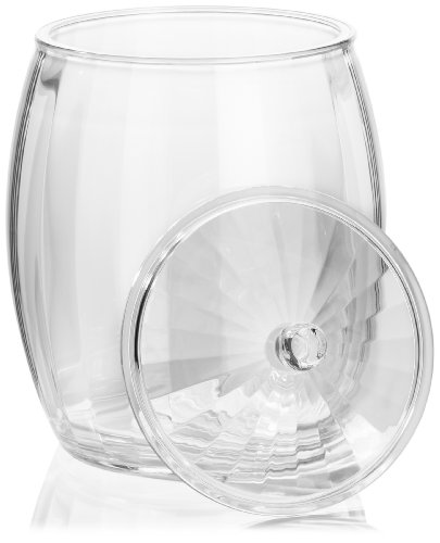 413DWd61SOL - Prodyne AP-98 Contours 3-1/2-Quart Ice Bucket, Clear