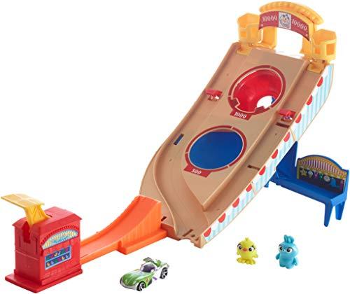 Hot Wheels Toy Story Buzz Lightyear Carnival Rescue (Toy Story Buzz Lightyear To The Rescue)