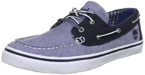 (Timberland Men's Newmarket Ox Boat Shoe,Blue,8.5 M US)