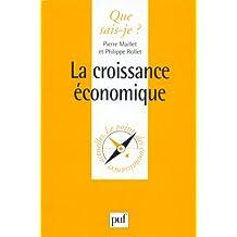 Croissance économique (La)
