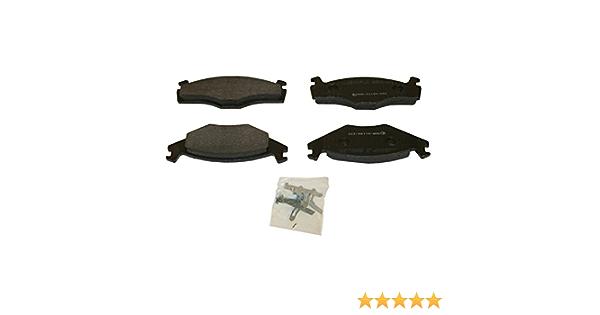 BECK//ARNLEY 082-1398 Premium Organic Disc Brake Pads Rear FREE SHIPPING!