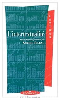 L'Intertextualité par Sophie Rabau