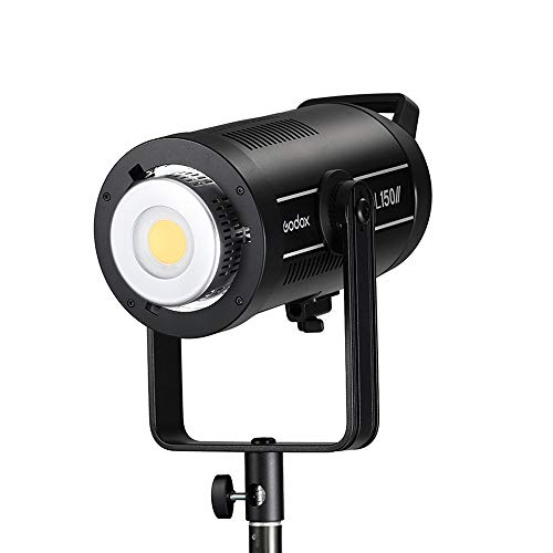 Godox SL150II 150W LED Video Lights, CRI96 + TLCI97 +,Builtin 8 FX Special Effects,Ultra Silent Fan,with BD-04 for Newborn Photography,Portrait,Interview Lighting, Video Filming.