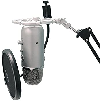 Aluminum Shock Mount For Blue Yeti Microphone by Auphonix