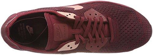 Nike Air Max 90 Ultra 2.0 Flyknit, Scarpe da Ginnastica Basse Uomo Multicolore (Team Red / Rust Pink 601)