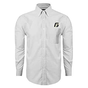 94fbc545 Amazon.com : George Fox Mens White Oxford Long Sleeve Shirt 'G ...
