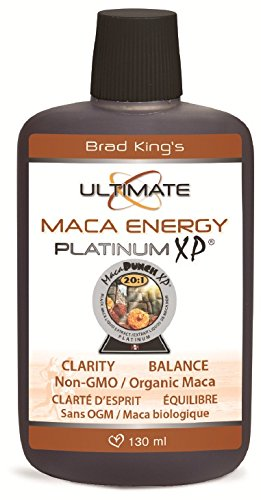 Brad King Ultimate Maca Energy Platinum XP, 130 ()