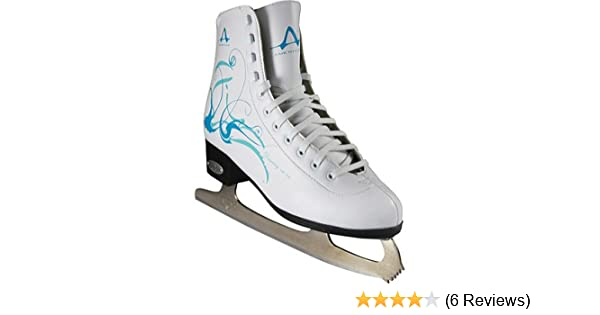 97a437c31a0a8 American Athletic Shoe Women's Sumilon Lined Figure Skates with Black  Outsole