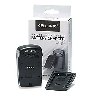 CELLONIC® Cargador - () para Samsung SLB-0737 (Samsung NV7 OPS / NV3 / NV5 / i70 / i70S / Digimax L80 / Digimax L73 ( / ) Cable de carga negro