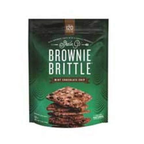 Sheila Gs Brownie Brittle Mint Chocolate Chip Brownie Brittle, 5 Ounce -- 12 per case. by Brownie Brittle