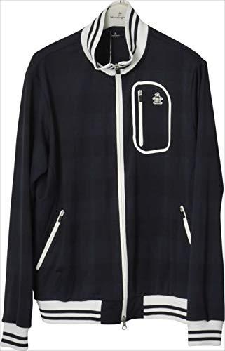 カットソー Munsingwear (マンシングウェア) メンズ MGMLJL51 ネイビー 1904 ゴルフウェア Medium NV00.ネイビー B07QXW25Q3
