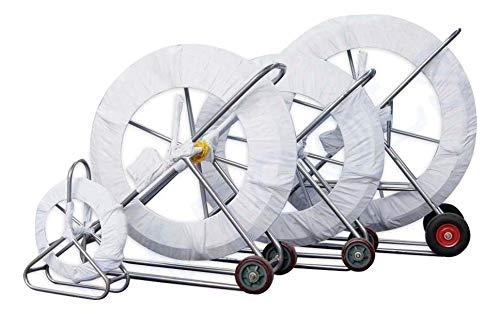 312365 6 * 50m Conducto Rodder, Herramienta de instalació n de tuberí as de alambre de cable elé ctrico de fibra de vidrio Herramienta de instalación de tuberías de alambre de cable eléctrico de fibra de vidrio KATSU Tools