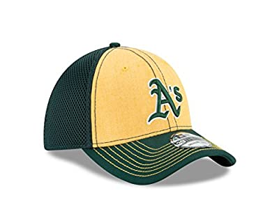 New Era MLB Oakland Athletics Heathered NEO 39Thirty Stretch Fit Cap