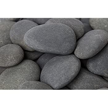 Margo 20lb. Landscape Rocks Decorative Rock Feature Large Mexican Beach Pebble 3 in. to 5 in.