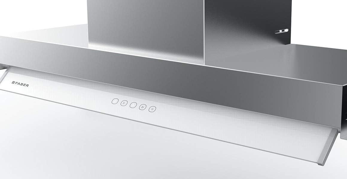 Faber In-Nova Touch - Campana extractora empotrable (acero inoxidable, 90 cm): Amazon.es: Grandes electrodomésticos