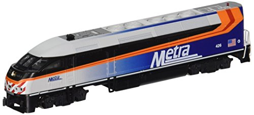 Kato USA Model Train Products MPI MP36PH #426 Chicago Metra N Scale Train ()