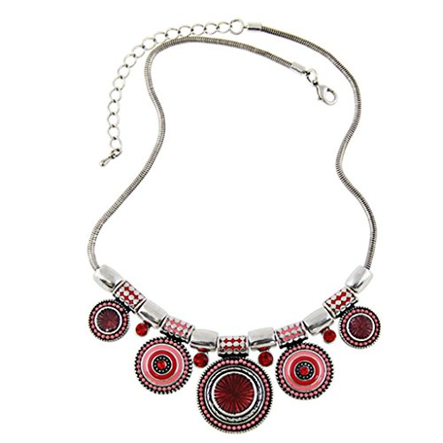 creazyrchoker-necklace-fashion-ethnic-vintage-silver-plated-colorful-bead-pendant-stat-red
