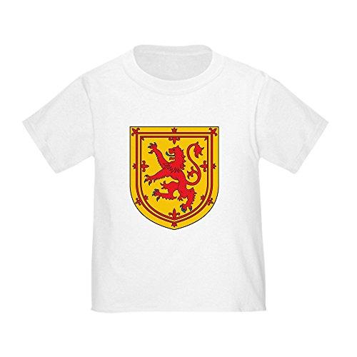 CafePress Scotland Emblem Cute Toddler T-Shirt, 100% Cotton White