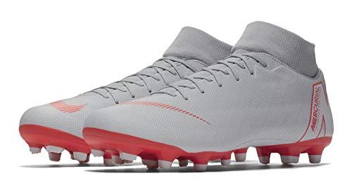 Fg Zapatillas De Nike Para Hombre mg 6 Fútbol Superfly Grigio Academy qtt167