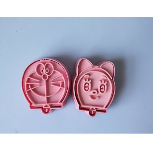 2pcs-doraemon-cookie-cutter-Fondant-Cake-sugarcraft-crafts-mold-modelling