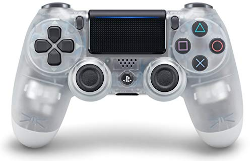 DualShock 4 Wireless Controller for PlayStation 4 - Crystal (Top Playstation 2 Games Of All Time)