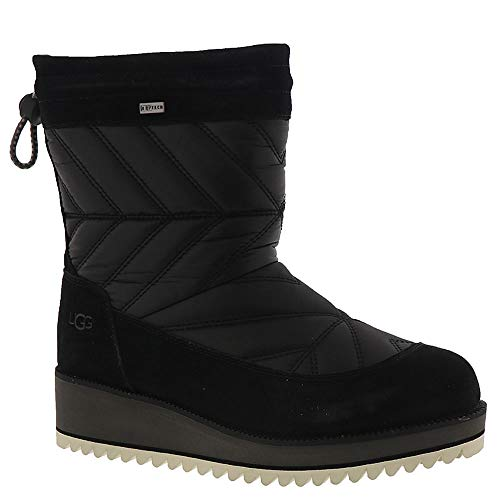 (UGG Women's Beck Boot Black 10 B US B (M))