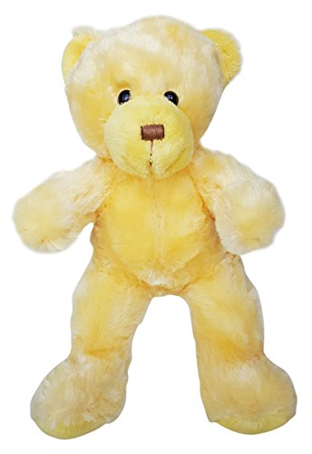 Cuddly Soft 16 inch Stuffed Yellow Bear...We stuff 'em...you love (Yellow Soft Bear)
