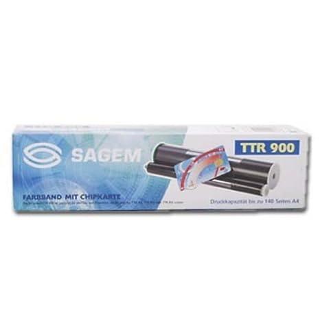 140 seiten Kompatibel Thermo-Transfer-Rolle Schwarz Sagem Fax 2316-900 // 815