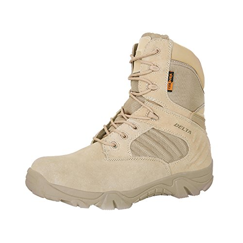 28a5c3e2fbe Galleon - KARKEIN Military Tactical Boots Waterproof Hiking Boots ...
