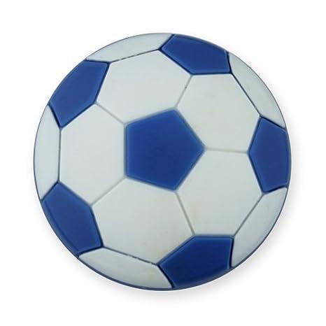 MyGrips GM-08 Kindermöbel Knopf Fussball Türknopf/nauf, blau
