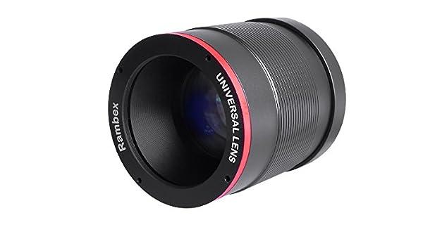 rambex Universal y DIY Cámara Objetivo 105 mm para cámara réflex ...