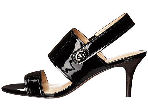 Coach Kvinnor Marla Patent Klänning Sandal Black Storlek 5