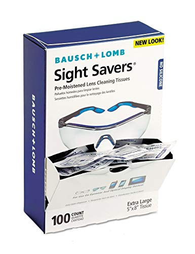 (Sight Savers Premoistened Lens Cleaning Tissues (100 Tissues/Box))