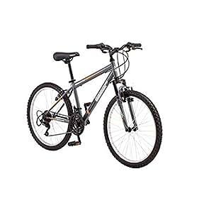 """24"""" Roadmaster Granite Peak Boys Mountain Bike (Gun Metal Gray)"""