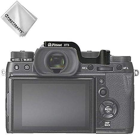 First2savvv DSLR Digital Camera Thumb Grip for Fuji Fujifilm X-T3 XT3 with a Cleaning Cloth LLX-XT3-ZB-01