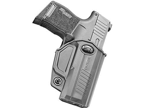 Fobus Evolution Holster, Belt, Right Hand, Sig Sauer P366, Black, 365NDBH