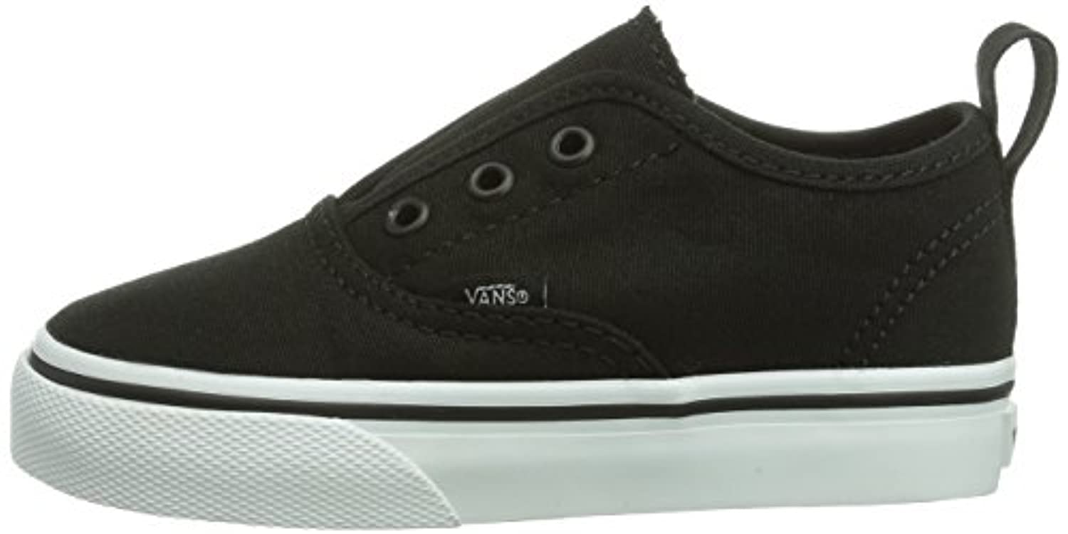 Vans Authentic V, Unisex Babies' Crawling Baby Shoes, Black (Black/True White), 12-24 months Baby UK (24 EU)