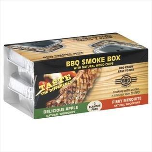 UPC 814537001016, The Bbq Chef Smoke Box Apple & Mesquite, 160Gm, Pack Of 15