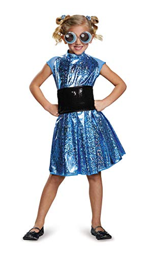 Bubbles Deluxe Powerpuff Girls Cartoon Network Costume, Small/4-6X