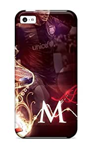 ElsieJM Premium Protective Hard Case For Iphone 5c- Nice Design - Lionel Messi Tricks