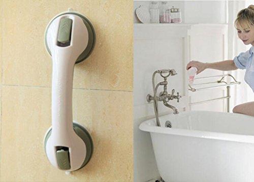 Ghope Grab Bar Suction Shower Handle Pull Door Window Bathroom Balance Bar Safety Hand Rail Support Handicap Elderly Injury Senior Assist Bath Handle Non Skid by Ghope (Image #5)