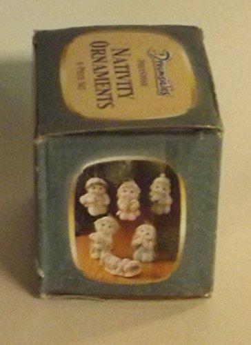 Dreamsicles Polystone Nativity Ornaments 6 Piece Set