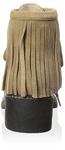 Cutler of Fringes Boot Women's 1960 Harlow up House Taupe Lace with Ankle gIwHZg