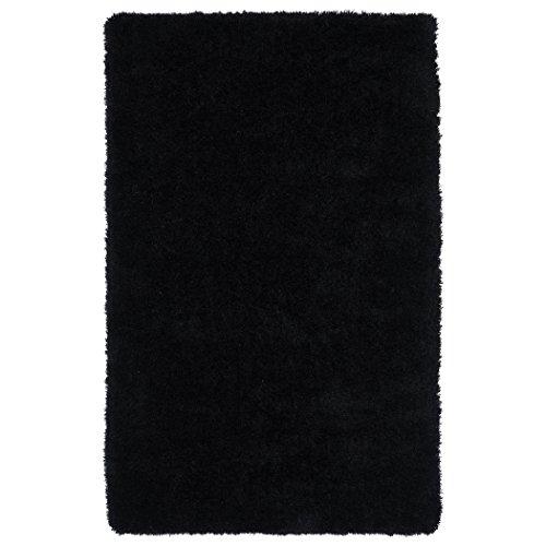 Kaleen Rugs Posh Collection PSH01-02 Black Handmade 5' x 7' Rug