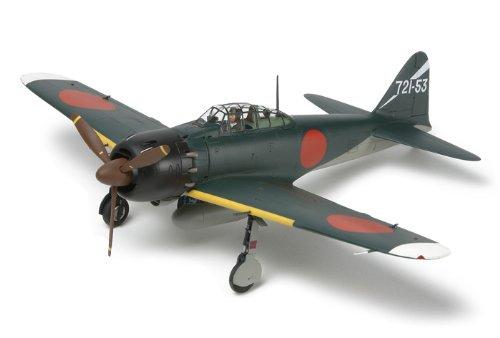 Tamiya 300025167 - 1:48 A6M5 Fighter (ZEKE) Eien no Zero, Probellerflugzeug