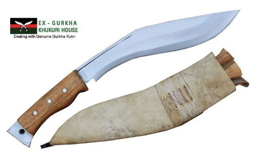 "Genuine Gurkha Aeof Kukri - 11"" Authentic British Gurkha Afghan Issue Khukuri - Handmade By Ex Gurkha Khukuri House in Nepal"