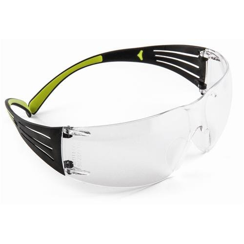 3M SF401AF SecureFit 400 Series Protective Eyewear, Clear Lens, - Eyewear Customized
