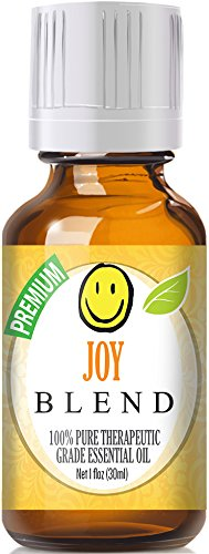 Joy Blend 100% Pure, Best Therapeutic Grade Essential Oil - 30ml / 1 (oz) Ounce - Bergamot, Ylang Ylang, Lemon, Tangerine, Palmarosa, Jasmine