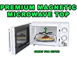 Magnetic Microwave Splatter Cover, Microwave Food Cover,Vents For Steam, Fits Large And Small